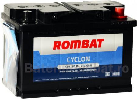 Poze Acumulator Auto Rombat Cyclon 12V 66Ah