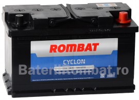 Poze Acumulator Auto Rombat Cyclon 12V 88Ah