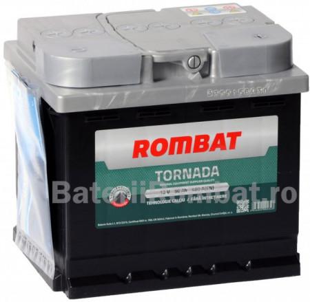 Poze Acumulator Auto Rombat Tornada 12V 50Ah