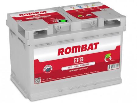Poze Acumulator Auto Rombat EFB 12V 70Ah