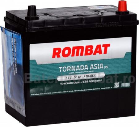 Poze Acumulator Auto Rombat Tornada Asia 12V 50Ah
