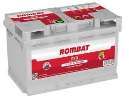 Poze Acumulator Auto Rombat EFB 12V 65Ah