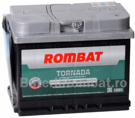 Poze Acumulator Auto Rombat Tornada 12V 60Ah