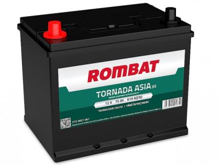 Poze Acumulator Auto Rombat Tornada Asia 12V 75Ah