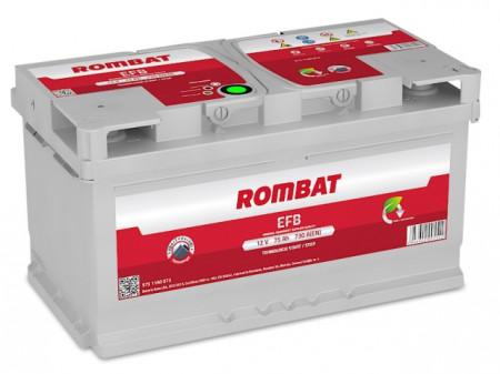 Poze Acumulator Auto Rombat EFB 12V 75Ah