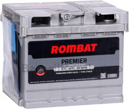 Poze Acumulator Auto Rombat Premier 12V 50Ah