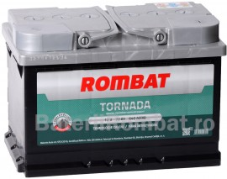 Poze Acumulator Auto Rombat Tornada 12V 70Ah