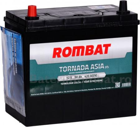 Poze Acumulator Auto Rombat Tornada Asia 12V 50Ah (borna inversa)