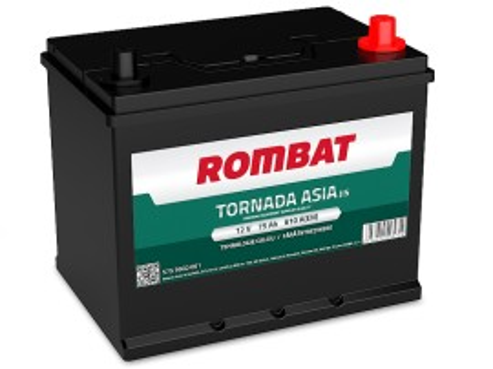 Poze Acumulator Auto Rombat Tornada Asia 12V 75Ah (borna inversa)