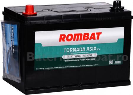 Poze Acumulator Auto Rombat Tornada Asia 12V 100Ah (borna inversa)