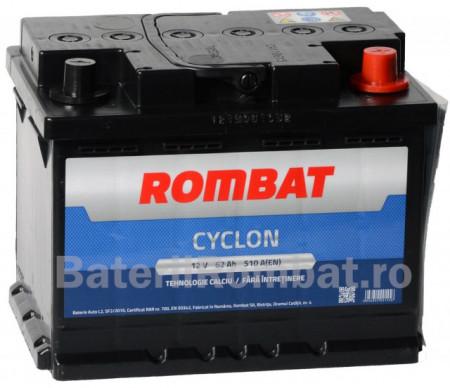 Poze Acumulator Auto Rombat Cyclon 12V 62Ah