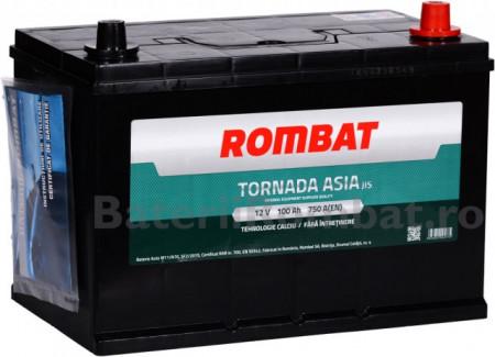 Poze Acumulator Auto Rombat Tornada Asia 12V 100Ah