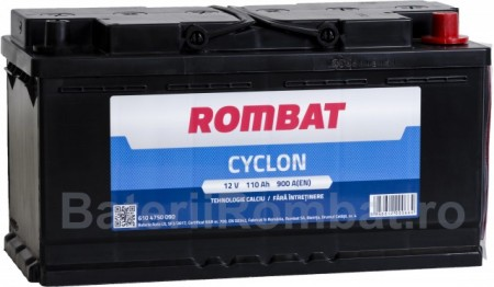 Poze Acumulator Auto Rombat Cyclon 12V 110Ah