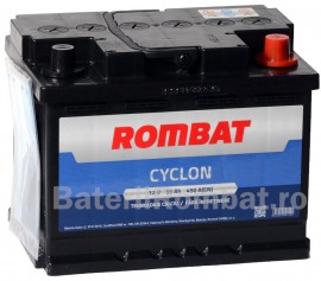 Poze Acumulator Auto Rombat Cyclon 12V 55Ah