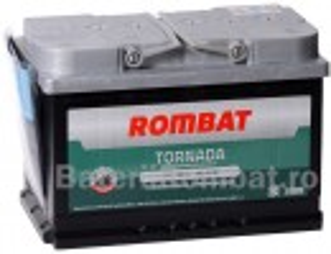 Acumulator Auto Rombat Tornada 12V 80Ah