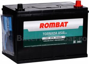 Acumulator Auto Rombat Tornada Asia 12V 100Ah