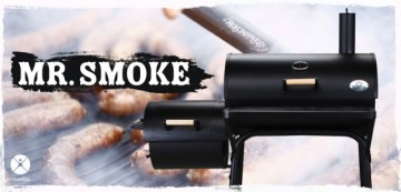 Poze Gratar BBQ Smoker & Holzkohlegrill
