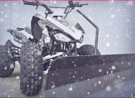 "BEMI Snow Plowder J8"" cutie cu 3 trepte forta +Revers automatic Winter Special Edition"