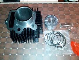 Set Motor Kit Piston Cilindru 110/125cc 52.4mm