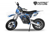 Cross copii Eco 500W 36V Gazelle Elektrobike Dirtbike Crossbike Batterie Lithium