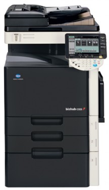 Bizhub C353 Copiator color format A3