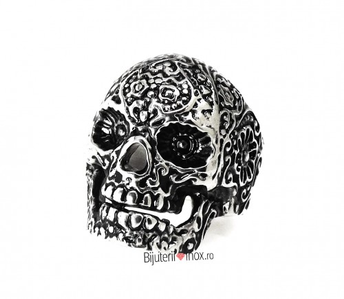 Poze Inel inox - SKULL - Clubbing Collection - Vintage- Patinat Artificial - i687