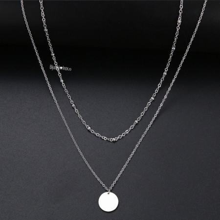 Lantisor Inox -Dama- LPD674