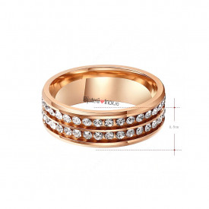 Inel inox -ROSE- IND1083