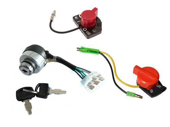 Componente pornire generator