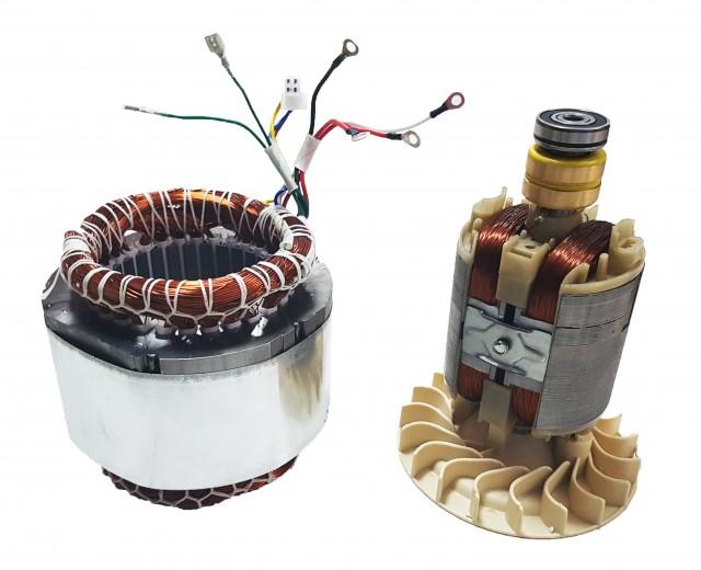Stator si rotor generator