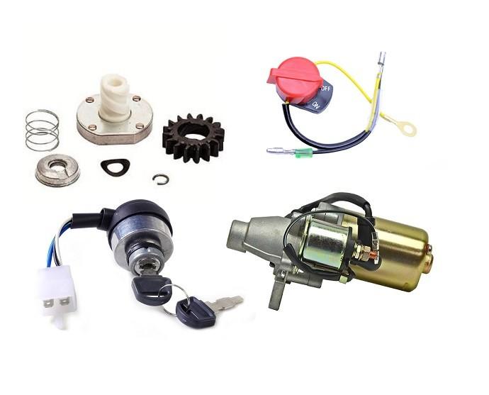 Componente electrice pentru pornire