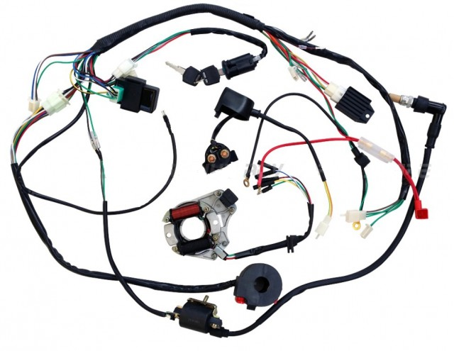 SSR SR125 to SSR125 TR  parison also Watch moreover Watch additionally 50cc 4stroke Auto Clutch Honda Clone Engine further Pool Timer Switch Wiring Diagram. on lifan wiring diagram