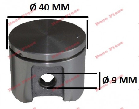 Poze Piston complet drujba Dolmar PS102, PS39, PS400, PS401, PS410, PS411 Ø40mm