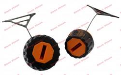 Set buson benzina + ulei drujba Stihl (model portocaliu)