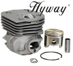 Kit cilindru drujba Husqvarna 350 , 351, 353 , 346 XP Hyway Ø 44 mm (Piston placat cu teflon)