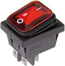 Comutator simplu KCD4 16A (rezistent la apa)