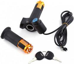 Acceleratie bicicleta / scuter electric (cu indicator de voltaj si cheie)