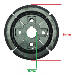 Ambreiaj mai compactor Wacker RM75 Diametru 88mm