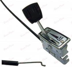 Cablu acceleratie + maneta 180 cm (motosapa, motocultor, masina de tuns gazonul)