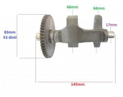 Contragreutate cu pinion motor motosapa diesel 186F