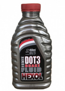 Lichid de frana DOT4 Hexol 400ml