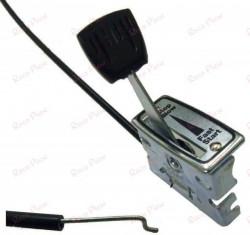 Cablu acceleratie + maneta 125cm (motosapa. motocultor, masina de tuns gazonul)