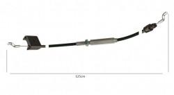 Cablu stop motocultor / masina de tuns gazonul 125cm (cu intinzator)
