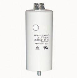 Condensator pornire motor electric CD60 (450V 200uf) cu papuci