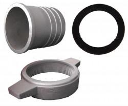 Cupla furtun motopompa 2 toli (aluminiu)