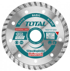 Disc diamantat taiere beton 125mm Turbo
