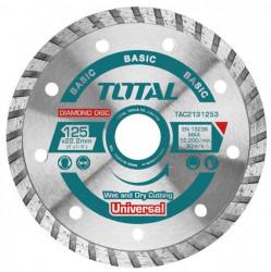 Disc diamantat taiere beton 125mm Turbo