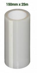 Scotch alb pentru reparatii folie solarii (15cm alb transparent) 25m Lungime