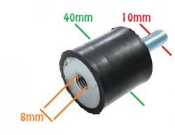 Amortizor universal generator, motopompa (surub-piulita) 10 mm