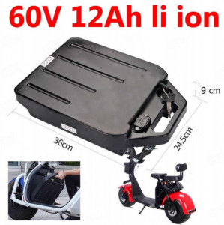 Baterie detasabila scuter electric 60 V, 12 A Litiu-Ion (City Coco)